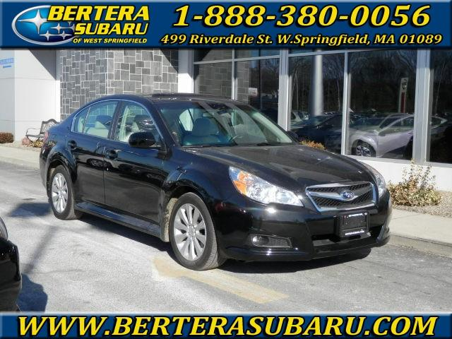 2011 Subaru Legacy 4dr Sdn H6 Auto 36R Ltd Pwr M 4-Wheel ABS 4-Wheel Disc Brakes 5-Speed AT A