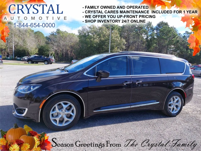 2017 Chrysler Pacifica Touring-L Quick Order Package 27L Touring L Safetytec Tire  Wheel Group