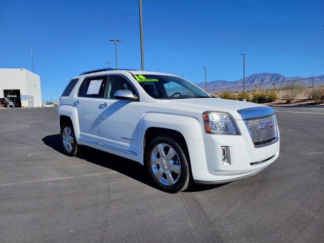 2014 GMC Terrain DENALI Dual-Stage Frontal Airbags Front Side-Impact Thorax Airbags Head Curtain