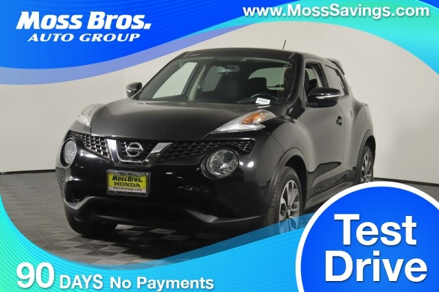 2017 Nissan Juke ABS 4-Wheel AMFM Stereo Air Conditioning Alarm System Alloy Wheels Backup